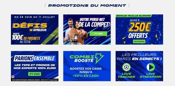 Promotions Parions Sport