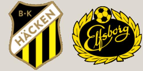 Hacken vs Elfsborg prediction