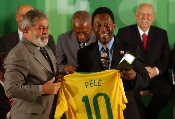 Los 10 jugadores de Brasil: Pelé