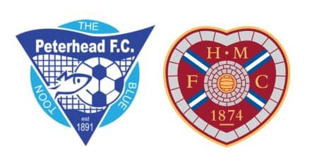 Peterhead vs Hearts Prediction
