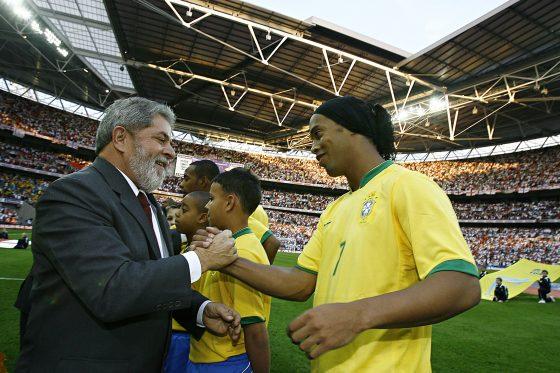Los 10 jugadores de Brasil: Ronaldinho