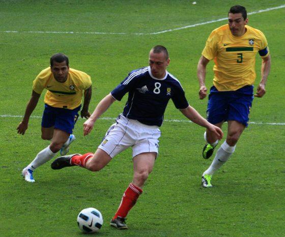 Los 10 jugadores de Brasil