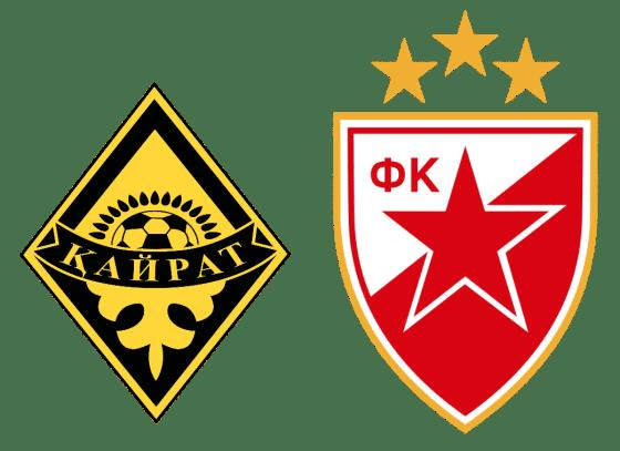 Kairat Almaty vs Crvena zvezda Belgrade: Prediction, Lineups, Team News, Betting Tips & Match Previews
