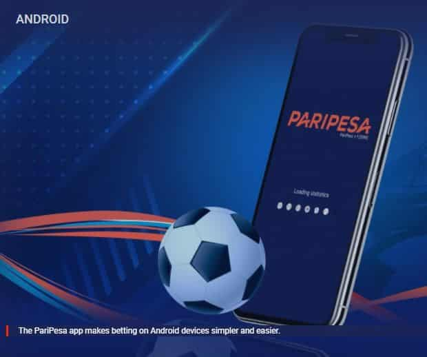 Betting on the app using the PariPesa Promo Code