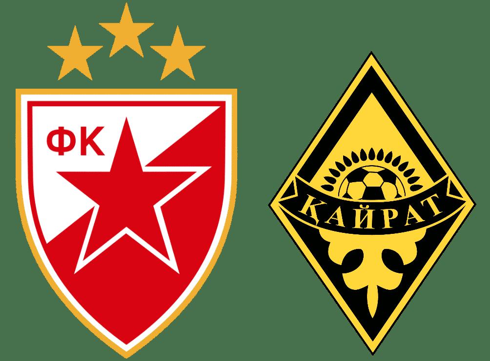 Pronostic Etoile Rouge Belgrade - Kairat Almaty