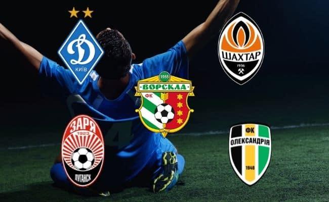рейтинг клубов украины