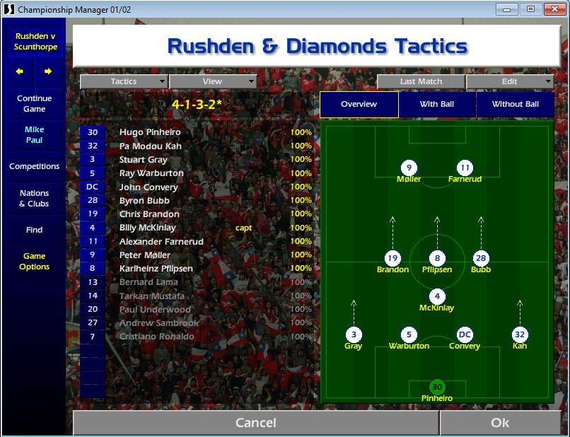 CM 01/02: Celebrating one of the most popular instalments of the Football Manager series