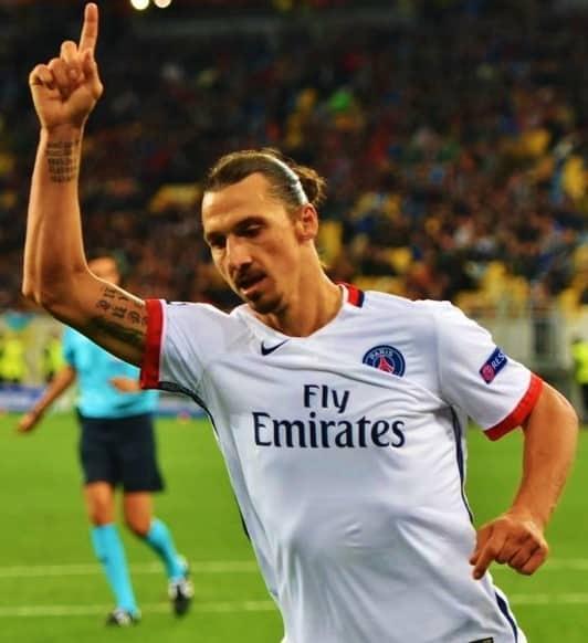 Ibrahimovic meilleur buteur ligue 1