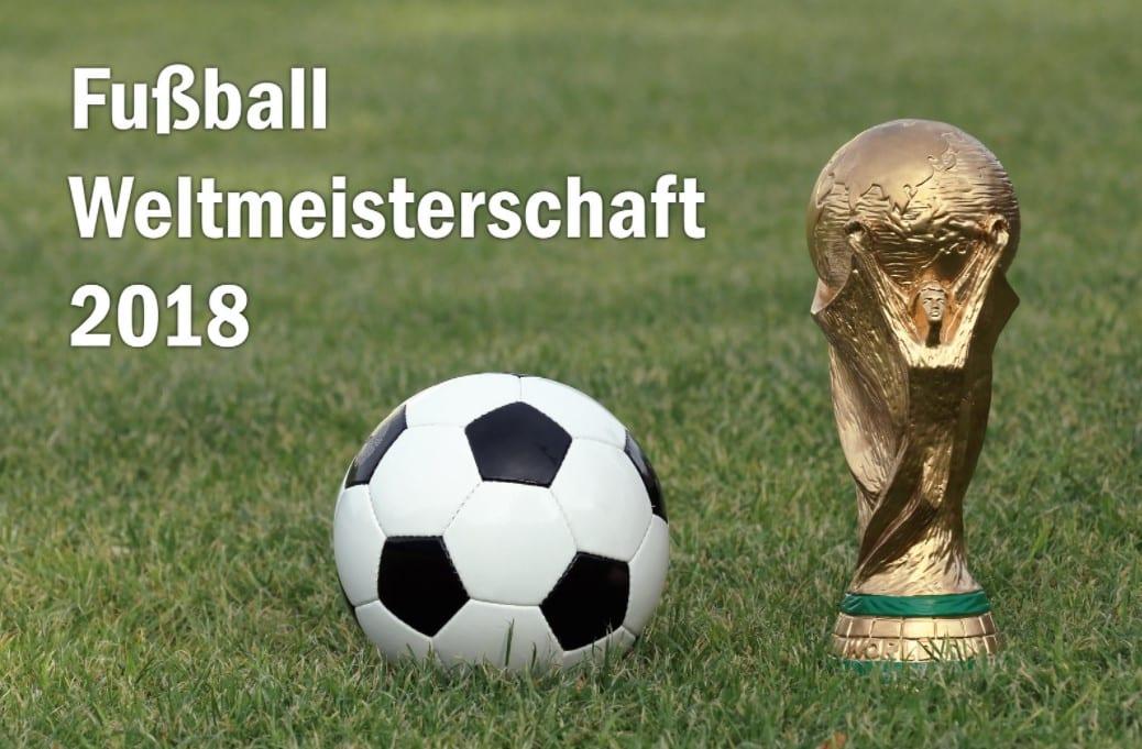 Fußballweltmeisterschaft 2018