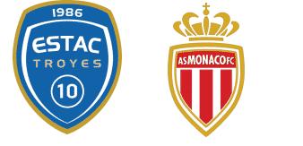 Troyes vs Monaco
