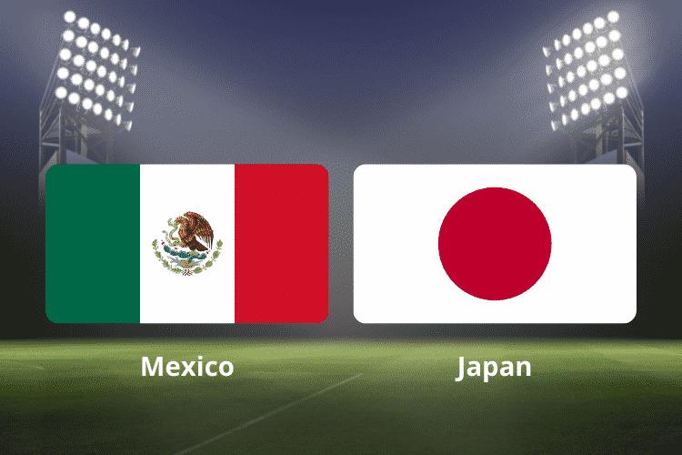 pronóstico México - Japón