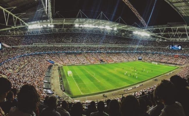 футбольное поле разметка