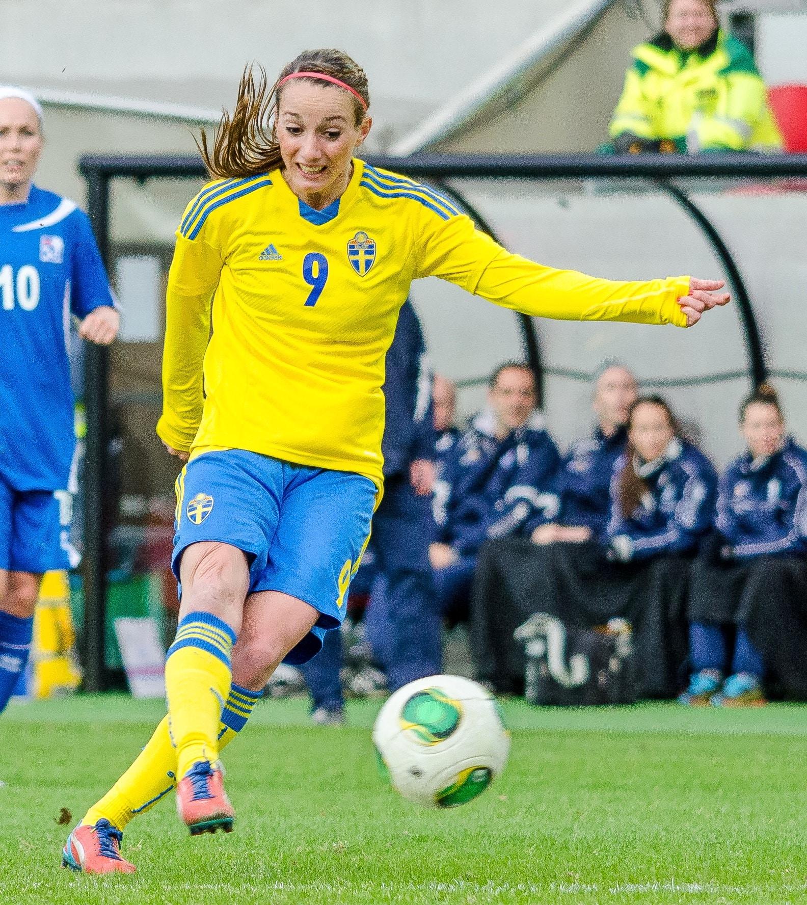 Det Svenska damernas fotbolls -VM -laget