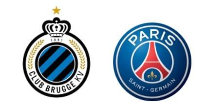 Pronostic Club Bruges - PSG
