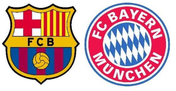 Barcelona - Bayern München tippek
