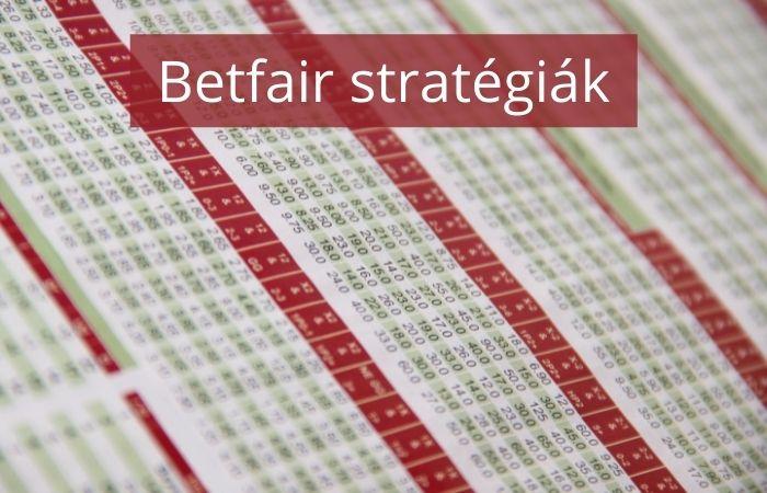 Betfair stratégiák