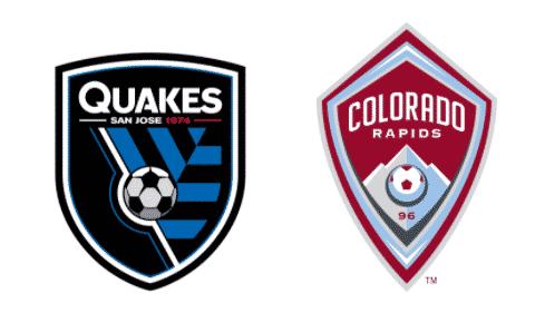 SJ Earthquakes vs Colorado RapidsPrediction