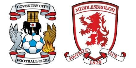 Coventry vs Middlesbrough Prediction,