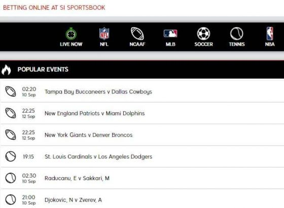 SI Sportsbook New Customer Offer