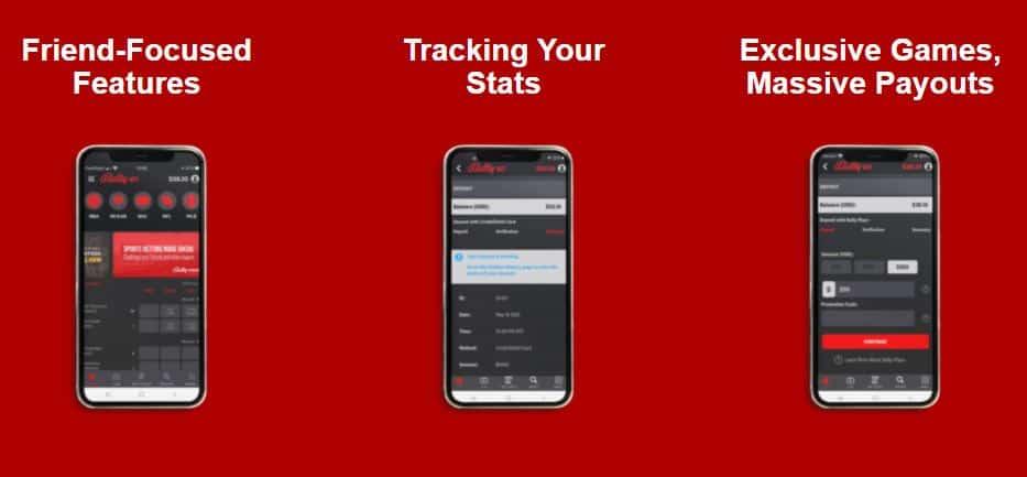 Bally Bet promo code for mobile