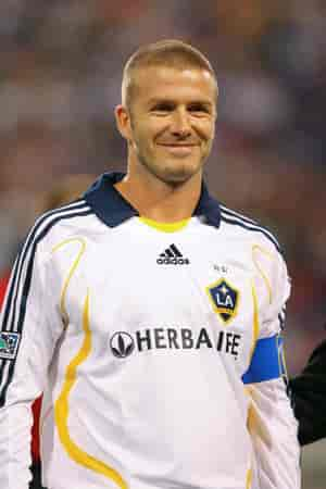 Former EPL Players who played in the MLS: David Beckham