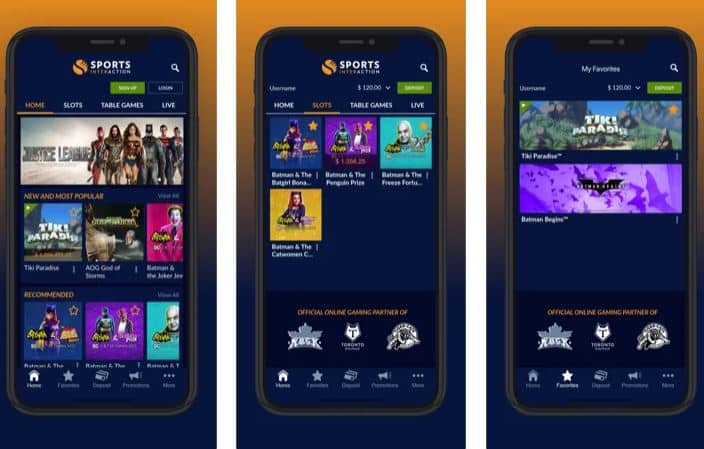 Sports Interaction App